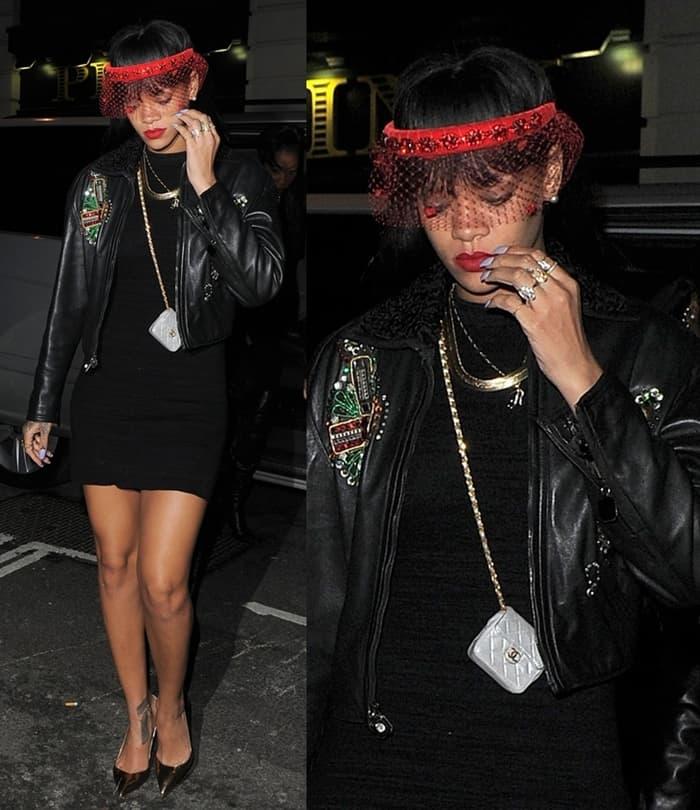 2014 Bag Moments - Rihanna