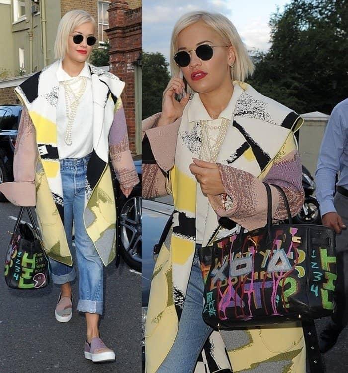 2014 Bag Moments - Rita Ora