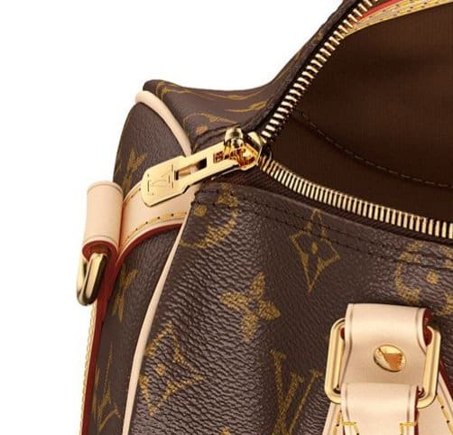 Counterfeit bags usually don't have the same high-quality hardware as real handbags