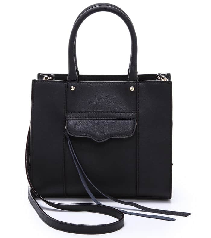 Rebecca Minkoff Mini MAB Tote in Black