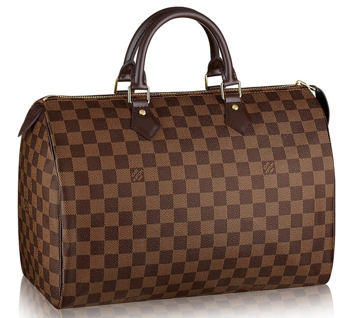 Louis Vuitton's very first handbag is called Speedy