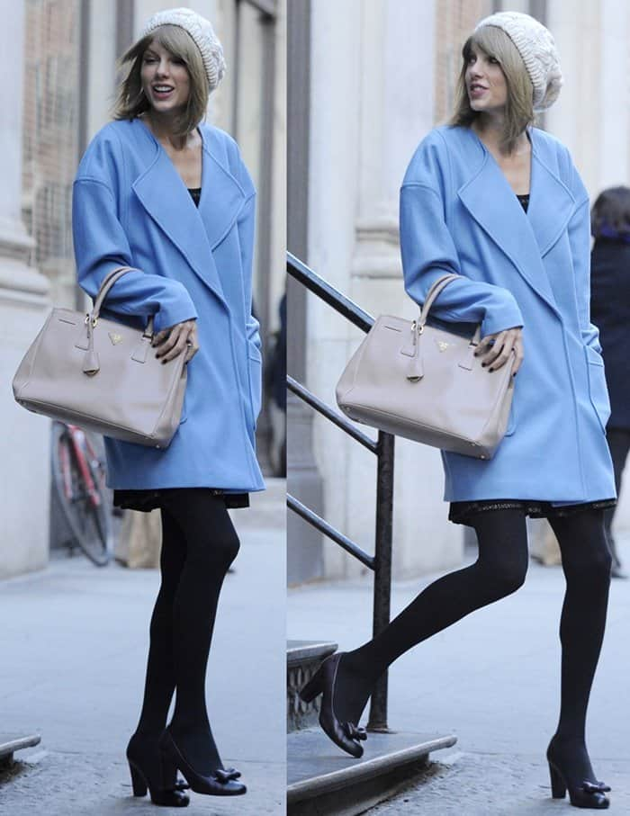 Taylor Swift out and about in New York City on December 11, 2014