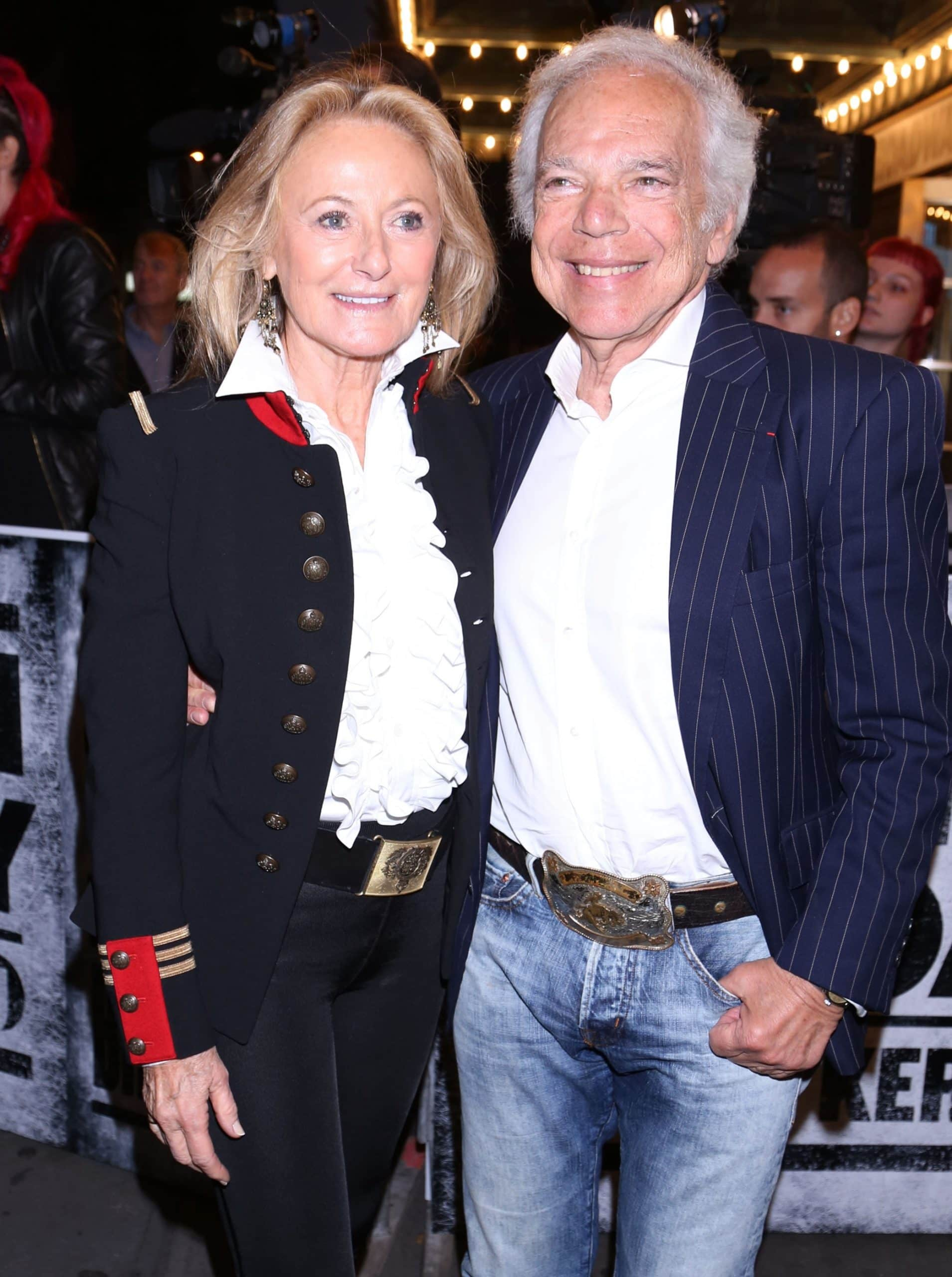 When Ralph Lauren designed the handbag dedicated to his wife Ricky Lauren, he intended for every woman who carries it to feel so at home in the world