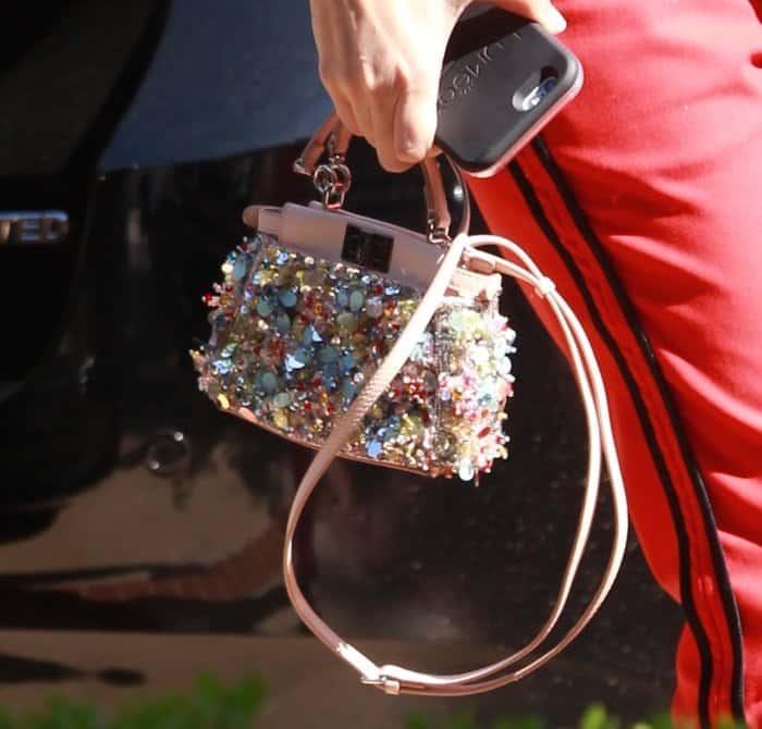 Penelope Disick's Mini Fendi Peekaboo purse