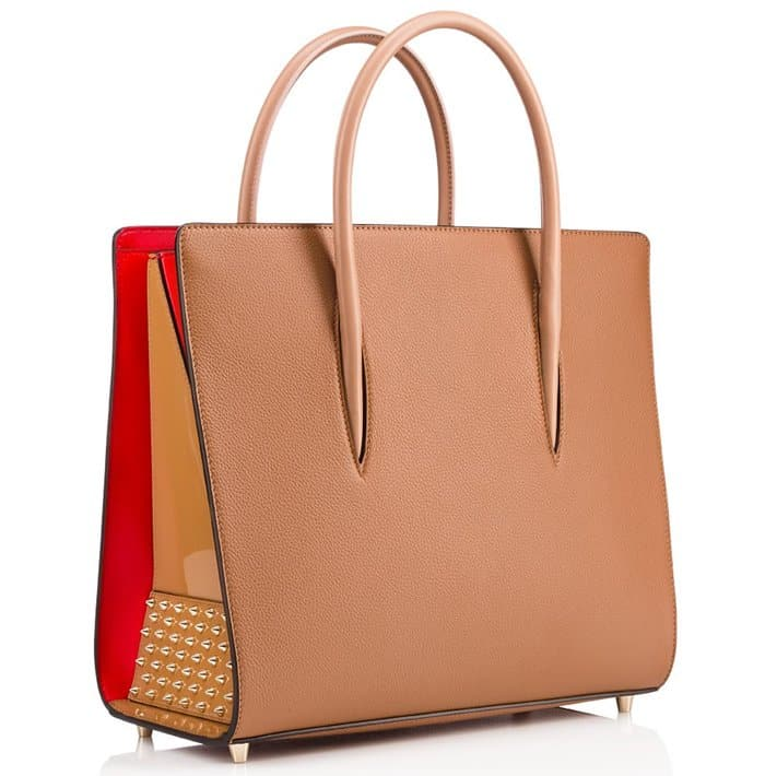 Christian Louboutin Paloma Tote Brown