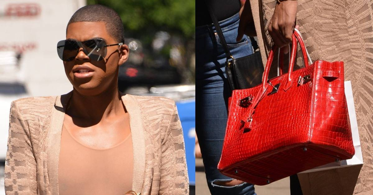 c316f4c5452 EJ Johnson Shows Off Hermes Crocodile Birkin Bag