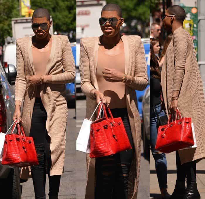 0c33ee3e62b3 EJ Johnson spotted shooting his new reality show EJNYC in Soho