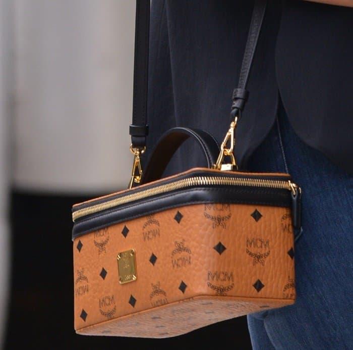 Heidi Klum's Rockstar Vanity Case from MCM