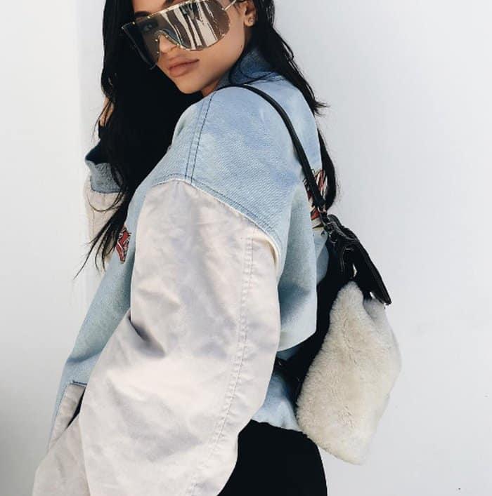 19898ba4b2f1 Kylie Jenner's 7 Coolest Designer Backpacks
