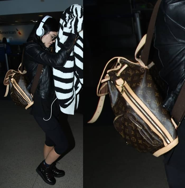 b3559a9b39ca12 Kylie Jenner arrives at Los Angeles International Airport on August 29, 2014