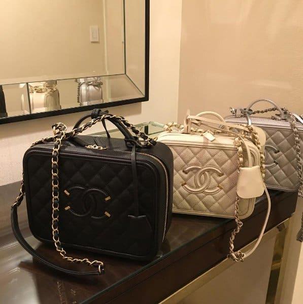 a8127d7e1cdd Nicki Minaj Shows Off $4,200 Chanel Vanity Case