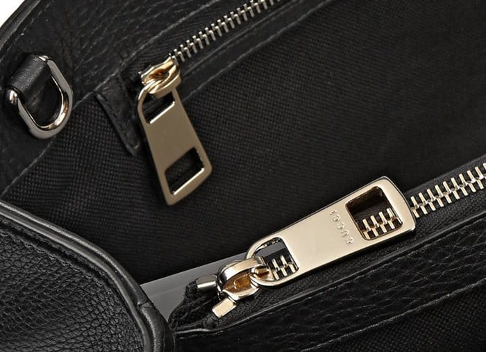 Genuine Gucci bags feature high-quality hardware