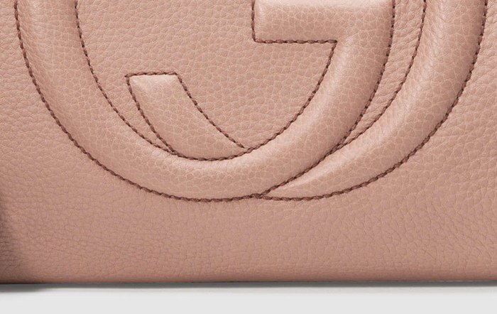 Fake Gucci bags often feature broken threads and uneven stitching