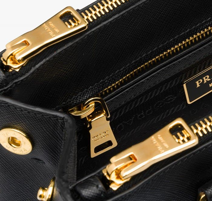 6a8baacc22e6 The hardware is critical in determining the authenticity of a Prada bag