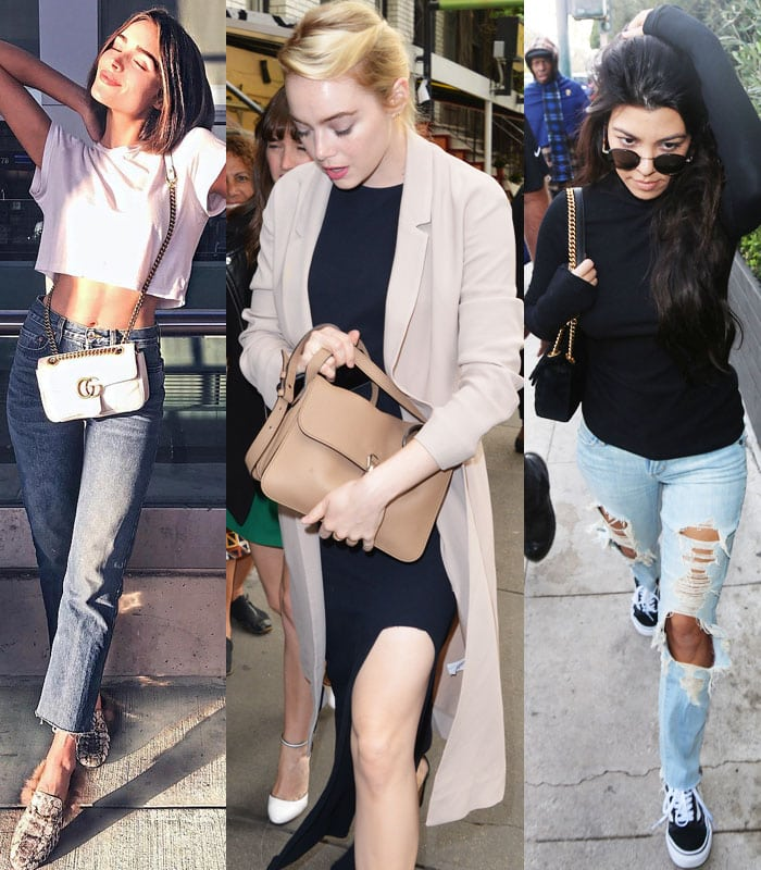 Olivia Culpo, Emma Stone and Kourtney Kardashian are only a few of household names who love their Gucci