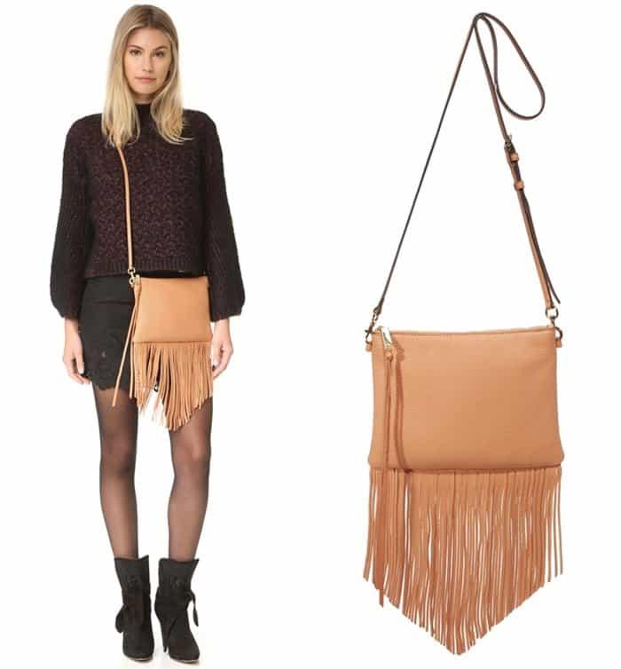 Rebecca Minkoff Fringe Jon Cross Body Bag