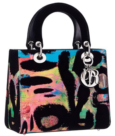 Lady Dior Art by Chris Martin