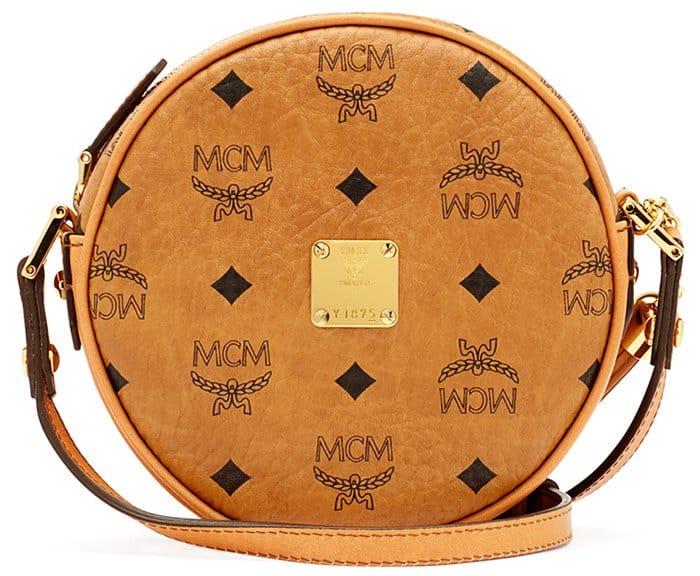 MCM Heritage Tambourine Bag