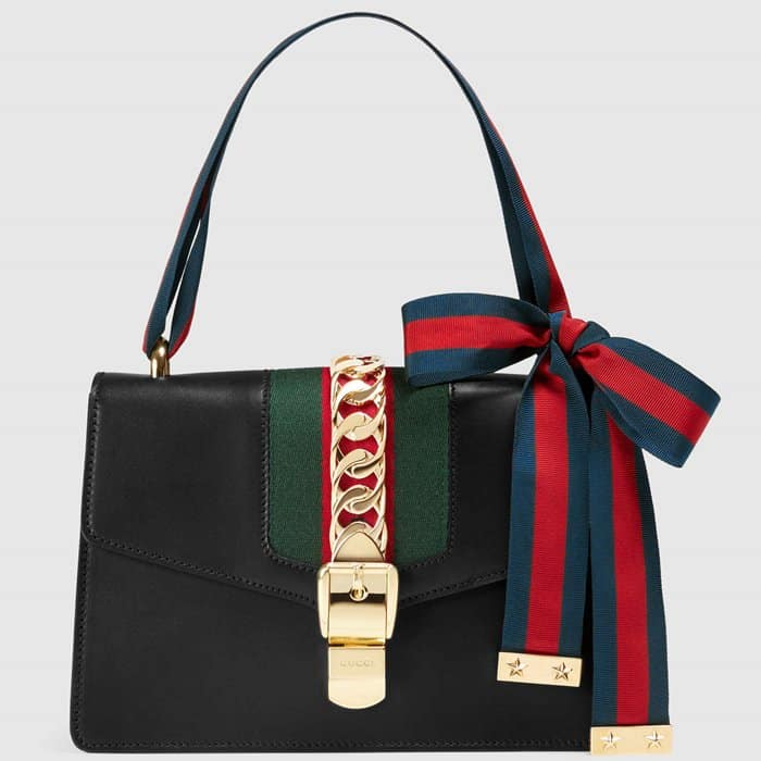 Gucci 'Sylvie' Leather Shoulder Bag