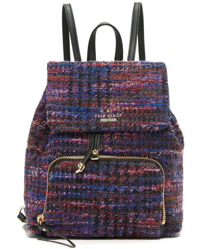 Kate Spade New York Jessa Tweed Backpack
