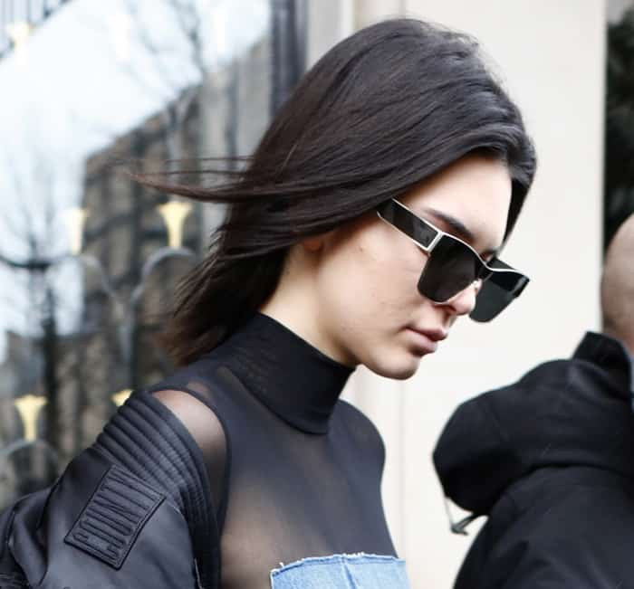 Kendall Jenner out and about in Paris for fashion week