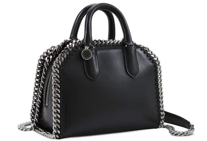 909d6c36ba8a Rooney Mara Carries Stella McCartney  Falabella  Box Bag