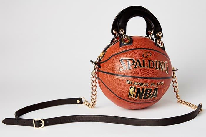 Sport Inspired Handbags: Andrea Bergart's Basketball Purse