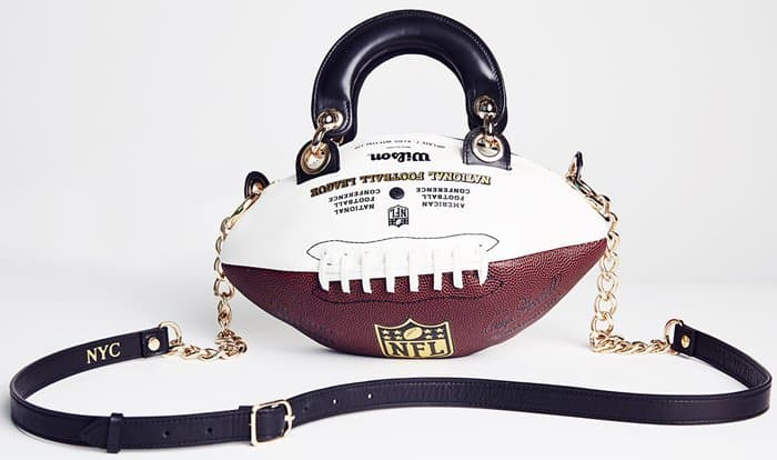 Andrea's Football Handbag