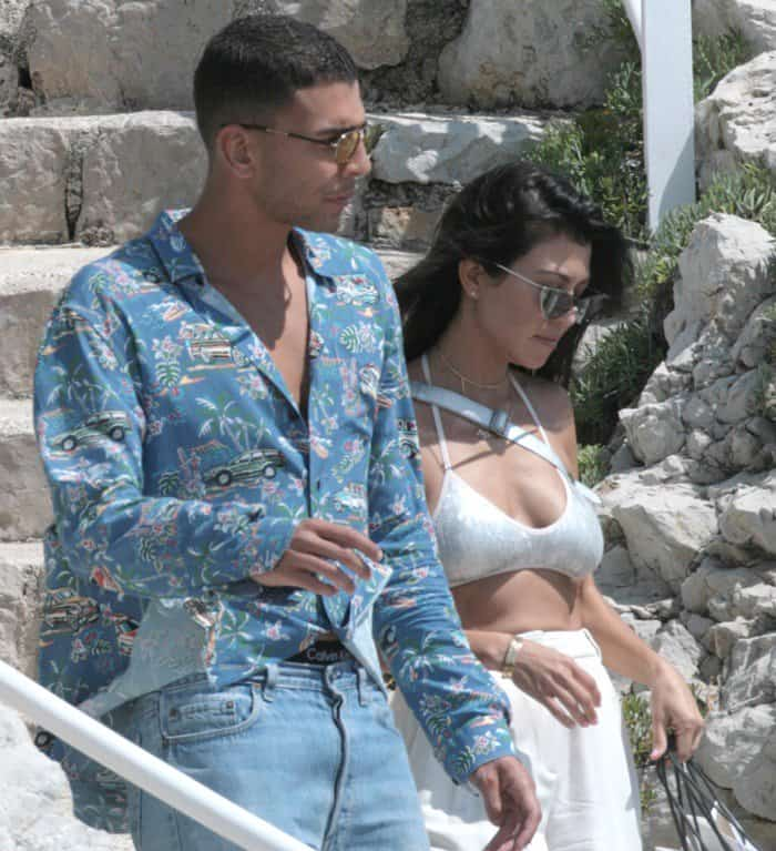 Kourtney Kardashian and her new toyboy Younes Bendjima