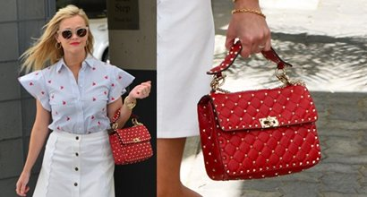 e29e87b88392 5 Alternatives to Reese Witherspoon s Fierce Valentino Rockstud Spike Bag