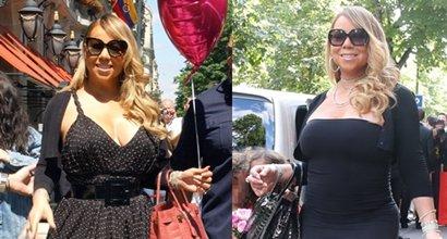 Mariah Carey Shows Off Crocodile Hermes Birkin Bags in Paris 3203f8d0e7175