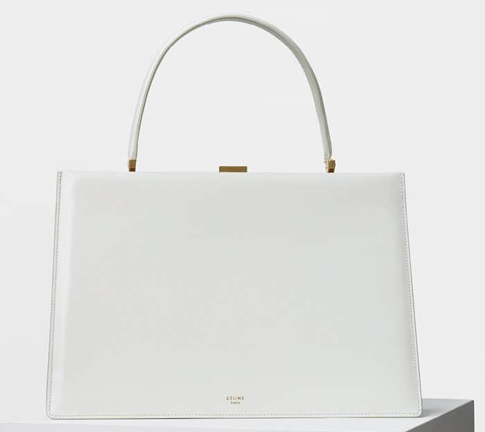 Celine Medium Clasp Handbag