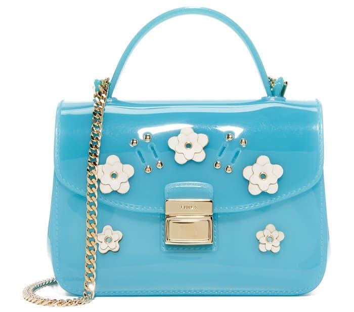 Furla Candy Lilla Sugar Mini Crossbody Bag