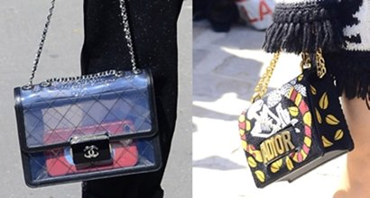 Celebrity Arm Candy  5 Chic Bags From Paris Fashion Week 3afe8c19a7383