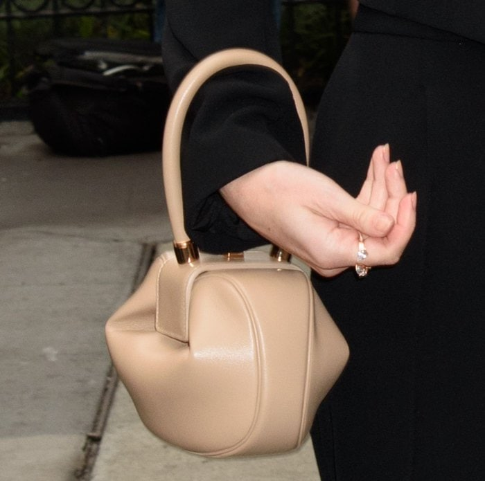 Kate Bosworth carrying a Gabriela Hearst 'Dei' Bag.