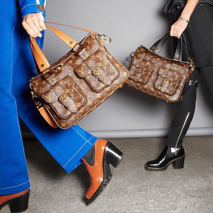 "Louis Vuitton showcases its ""Manhattan"" bag"