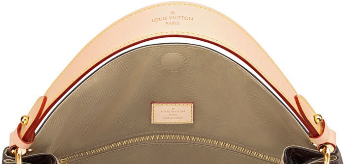 Each Louis Vuitton bag comes with a date code