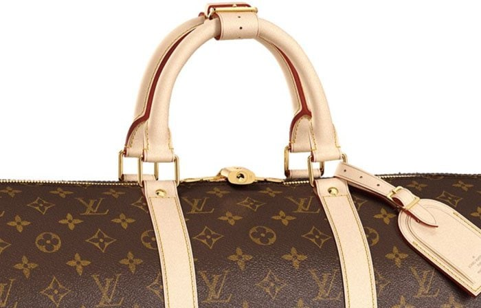 Identify fake Louis Vuitton bags by studying the shade of the trim