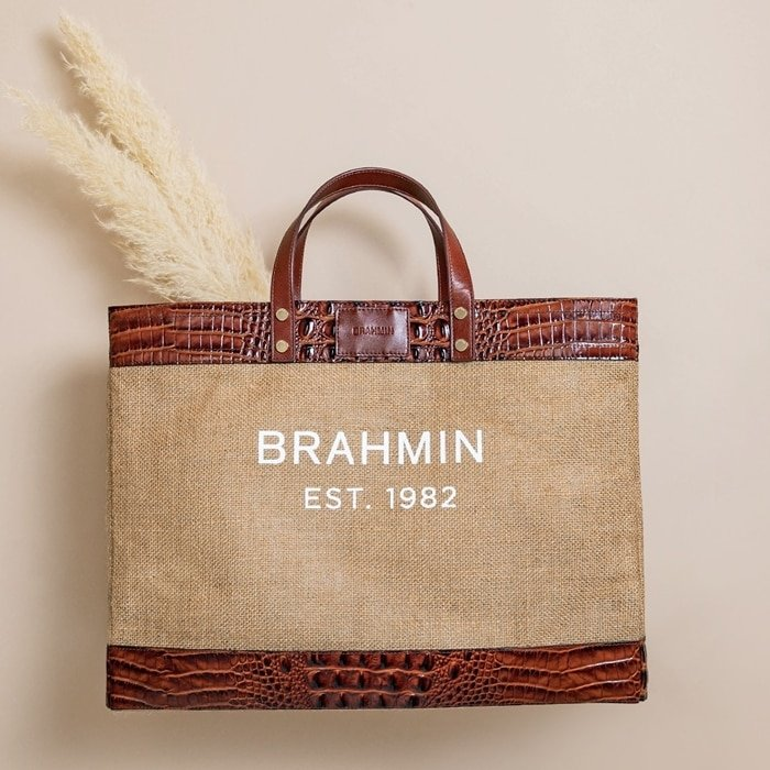 Since 1982, Brahmin has crafted quality leather handbags in Fairhaven, Massachusetts