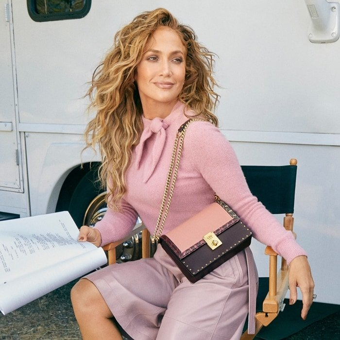 Jennifer Lopez became the new global face of Coach in November 2019