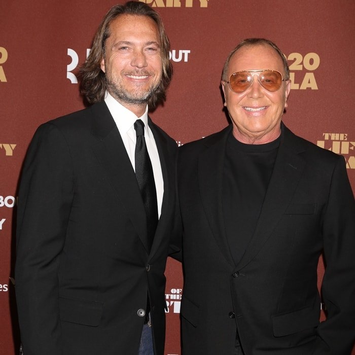 Michael Kors and his husband Lance LePere