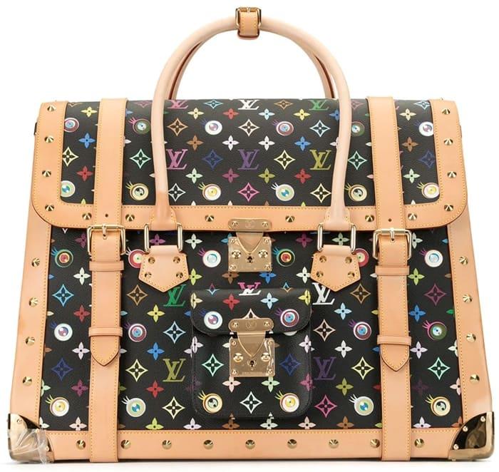 Louis Vuitton 2003 Pre-Owned Monogram Multicolour Eye Love Holdall