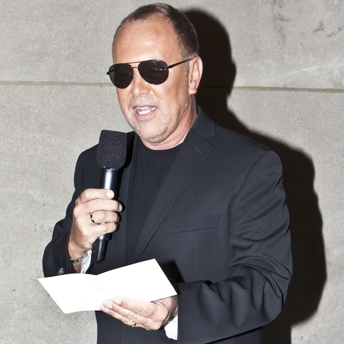 American fashion designer Michael David Kors is the honorary chairman and chief creative officer of his brand, Michael Kors