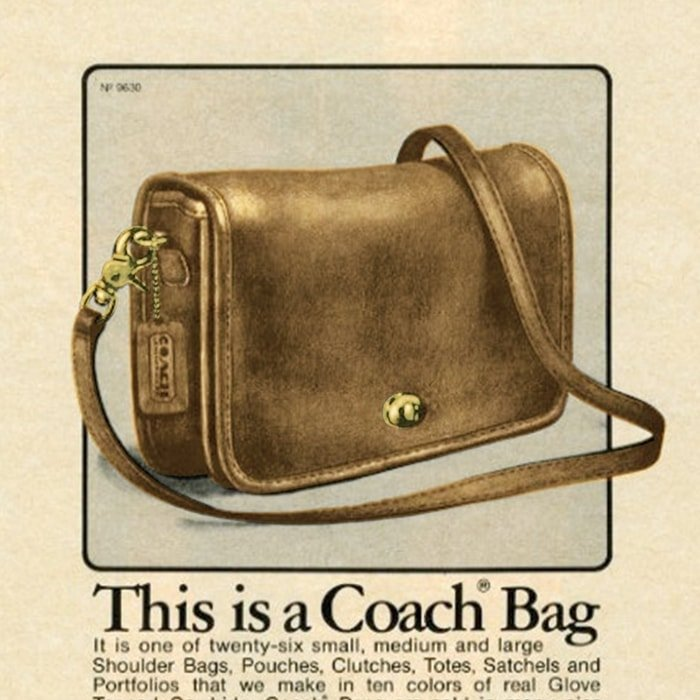 The iconic American brand Coach was founded in 1941 as a family-run workshop in a New York City loft located on 34th Street in Manhattan