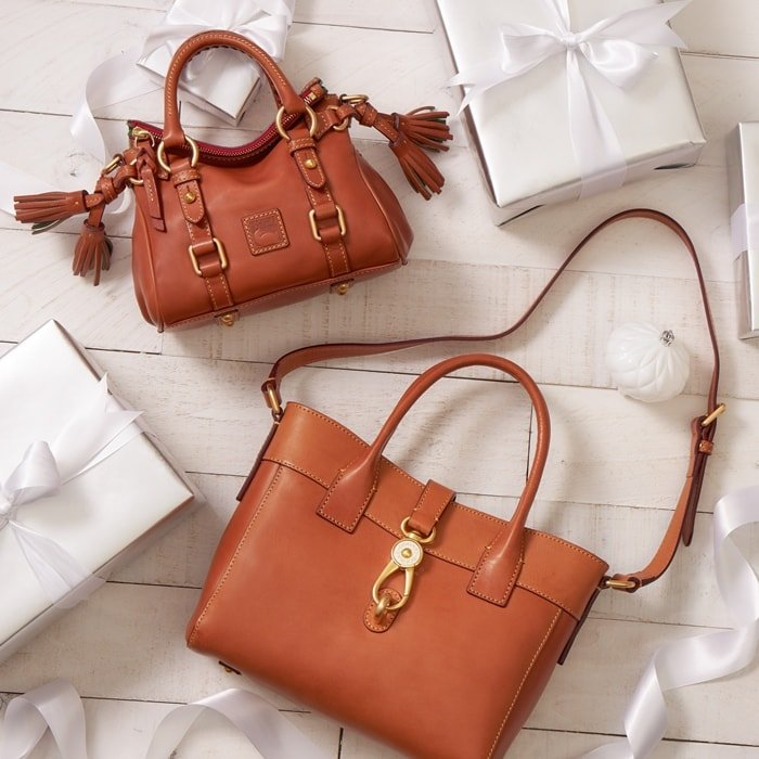 Dooney & Bourke is dedicated to designing and manufacturing their bags with expert craftsmanship and timeless style