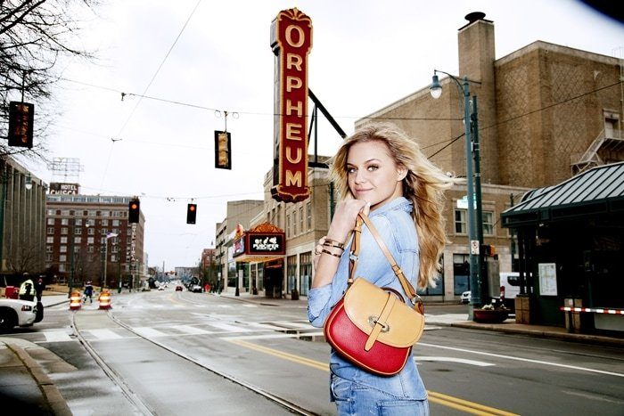 Kelsea Ballerini and Dooney & Bourke for Macy's American Icons