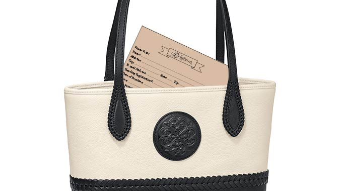 By registering your Brighton handbag, you'll get warranty for two full years from the date of your purchase