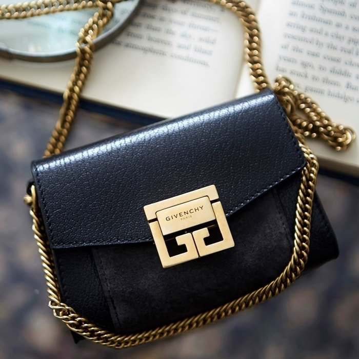 Givenchy bags are made with soft, tactile leathers of the highest quality