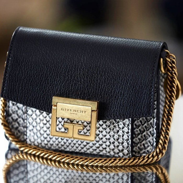 Givenchy's GV3 handbag is named after the company's landmark address on the Avenue George V in Paris