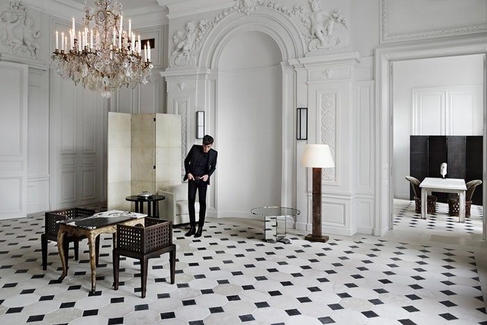 Hedi Slimane was the creative director for Yves Saint Laurent from 2012 to 2016